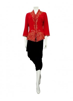 Blouse 02671 - Merah